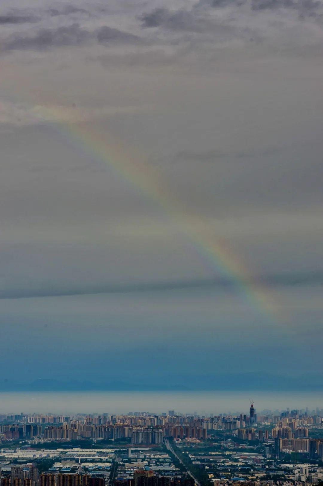 看,彩虹!