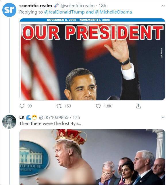 特朗普:要不是奥巴马工作差劲,根本就没有我这个总统