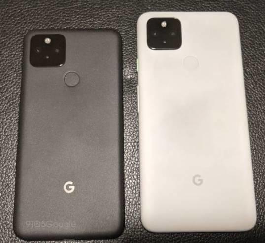 GooglePixel 5和Pixel 4a(5G)真机实拍图泄漏 规格型号获得确定