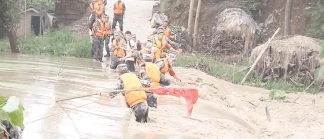 被洪水卷走的抗洪战士冒小驰,出院才一天就去了这里