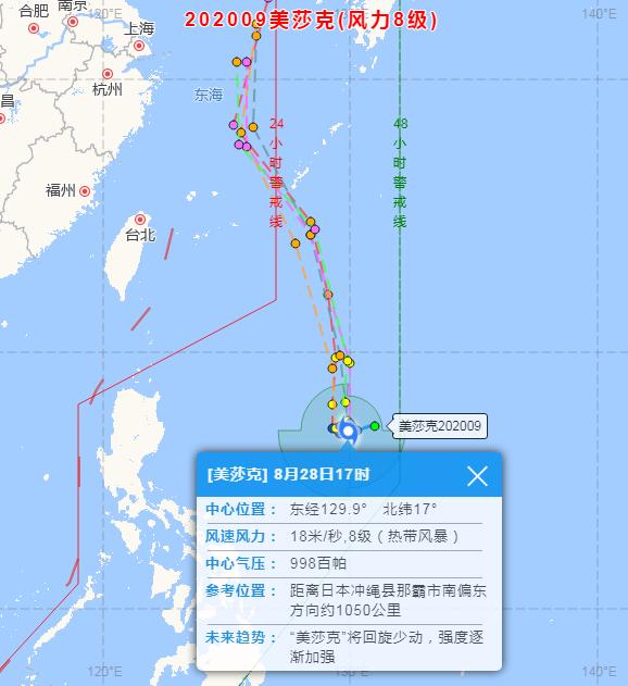 今年第9号台风生成!个头大、强度强!或朝东海靠近