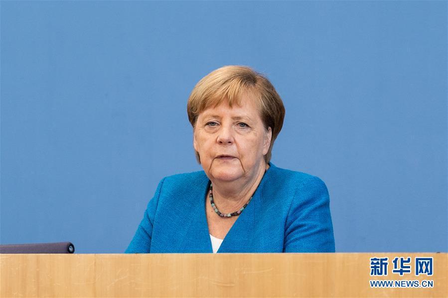 默克尔:欧盟期待与中国加强多领域合作