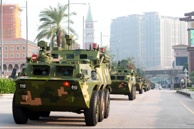 驻澳门部队第二十一次建制单位轮换工作顺利完成