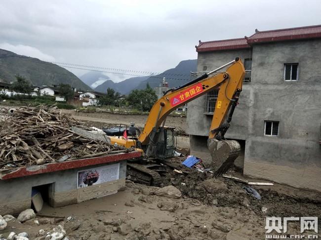 甘肃陇东南暴洪已造成134.46万人受灾 甘肃省水利厅全力组织应急处置