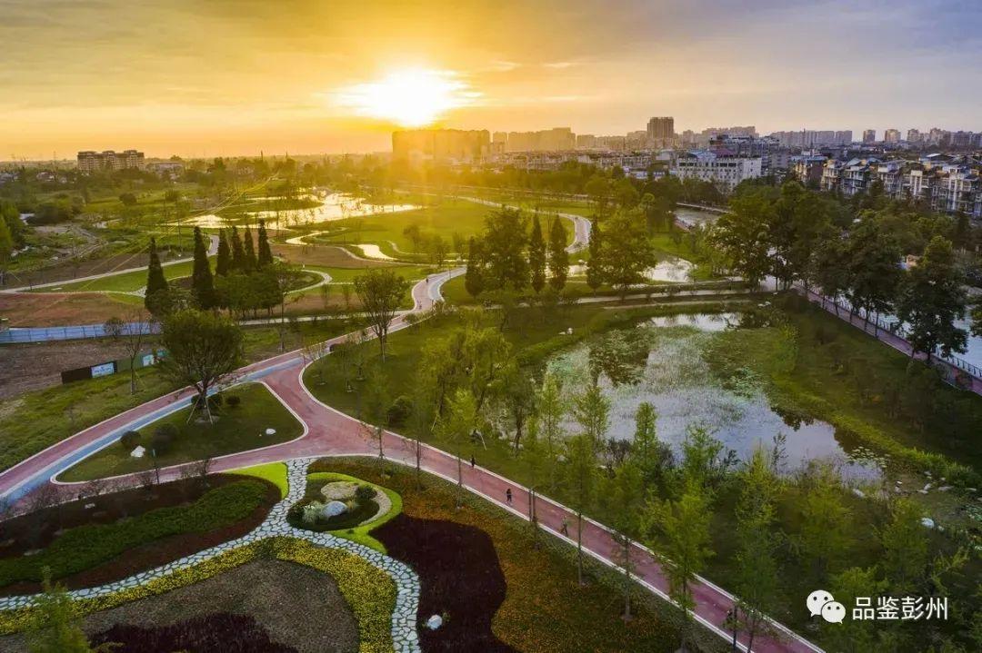 """彭州:一座被""""光""""偏爱的城市"""