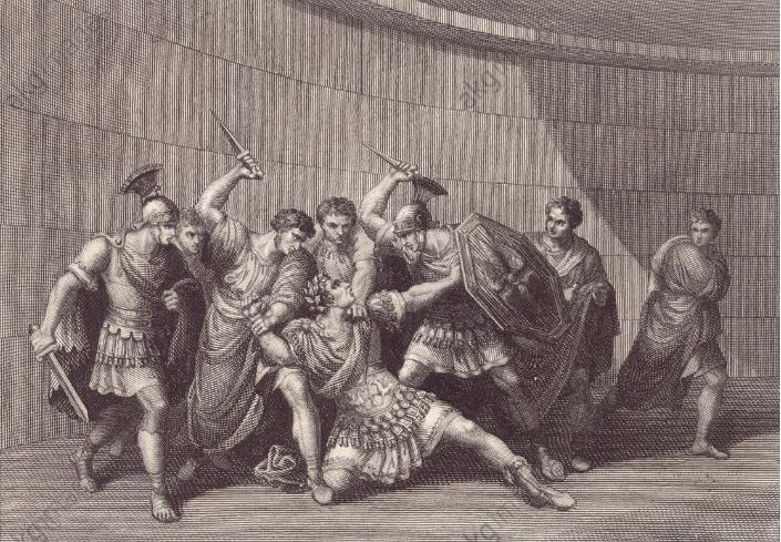 罗马皇帝︱卡利古拉:喋血街头的荒诞暴君