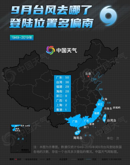 """首个秋台风""""海神""""成今年来风王 大数据揭示秋台风有多猛"""