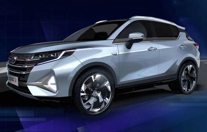 广汽传祺新款GS3,最快月底上市,换1.5T四缸,前脸造型更霸气