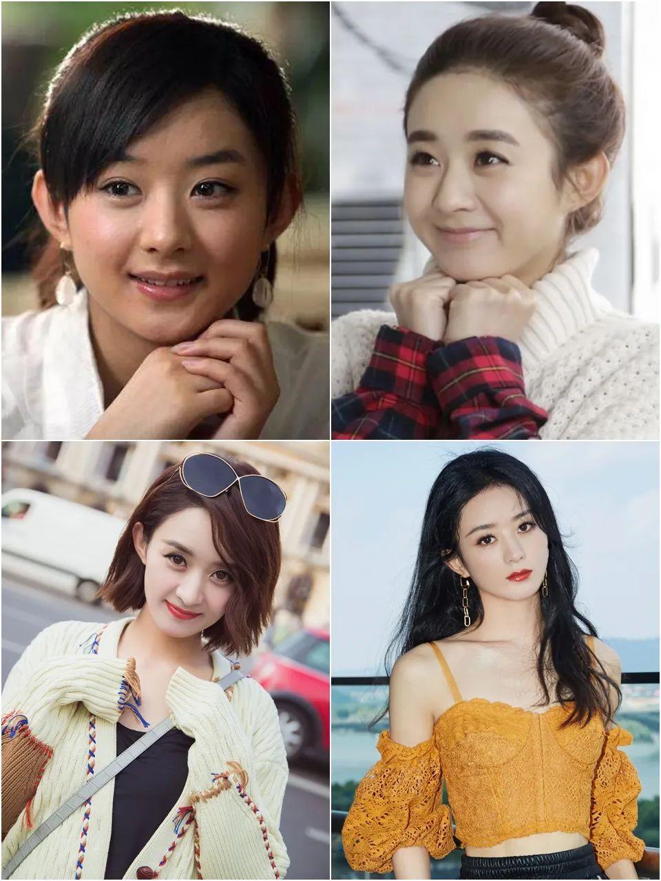 都说赵丽颖、杨采钰美了好多,我总结了8条她们的变美经