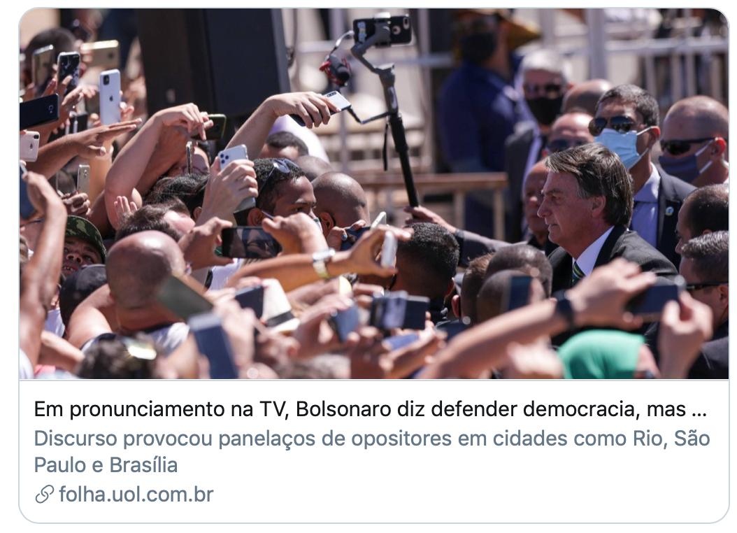 巴西新冠死亡数世界第二,前总统试图借疫情赶博索纳罗下台?