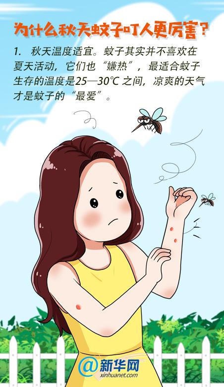 """【为什么秋蚊子""""喜欢""""你?防蚊妙招快收藏】图2"""
