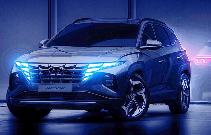 全新途胜9月26日国内发布!酷似奔驰SUV,尾灯设计有亮点