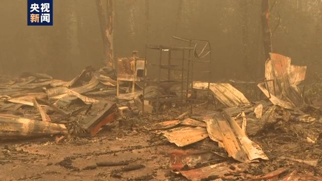美国西海岸山火已致33死 加州过火面积达上万平方公里
