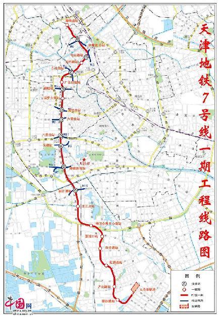 天津首个整线PPP地铁项目7号线取得重大进展
