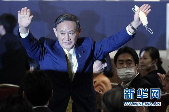 """菅义伟成为日本第99任首相,""""新内阁""""名单曝光;愿意接种新冠疫苗的美国人比例骤降"""