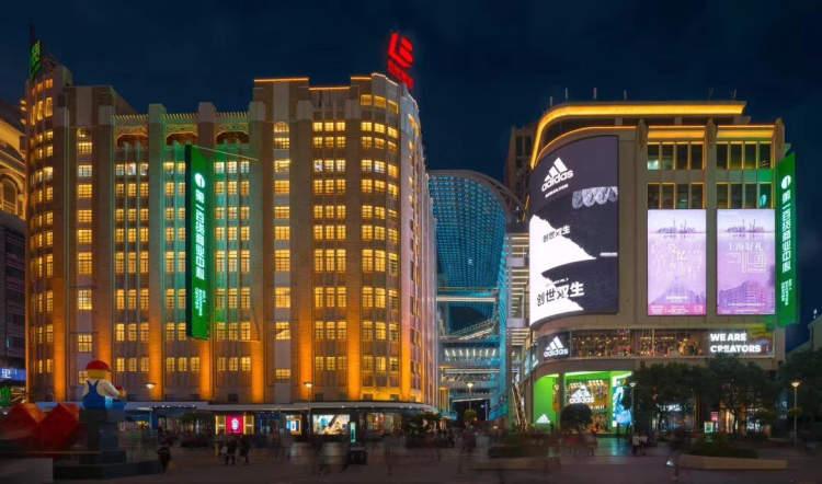 """步行街西段""""百世新""""商业联合体亮相 全新竞合提升南京路聚合力"""