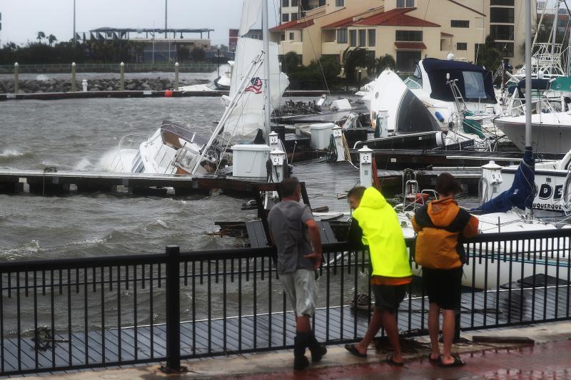 """历史性洪灾正在形成 袭美飓风""""莎莉""""就是造雨者"""