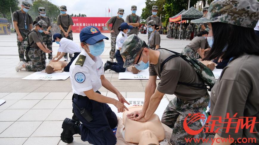 居安思危,广州大学生进行防空袭疏散掩蔽演练