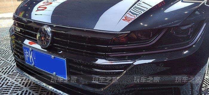 上海车友的大众CC改装案例 打造高颜值的黑武士