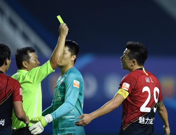足球丨中超:山东鲁能泰山胜深圳佳兆业
