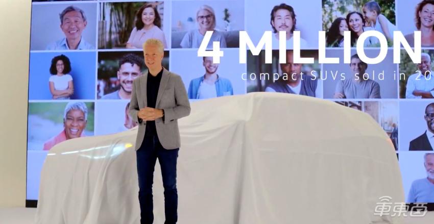 大众ID.4全球首发!美国27万元起售,对标特斯拉Model Y