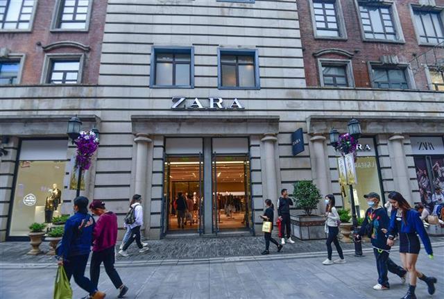 知名快时尚品牌ZARA宣布关店千余家,武汉店铺多正常运营未受影响