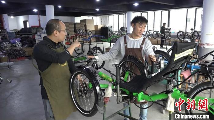 """躺着骑的自行车""""上海制造""""最高28000元"""