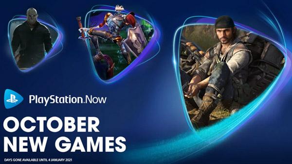 PS NOW新增《往日不再》、《三位一體4》等五款遊戲