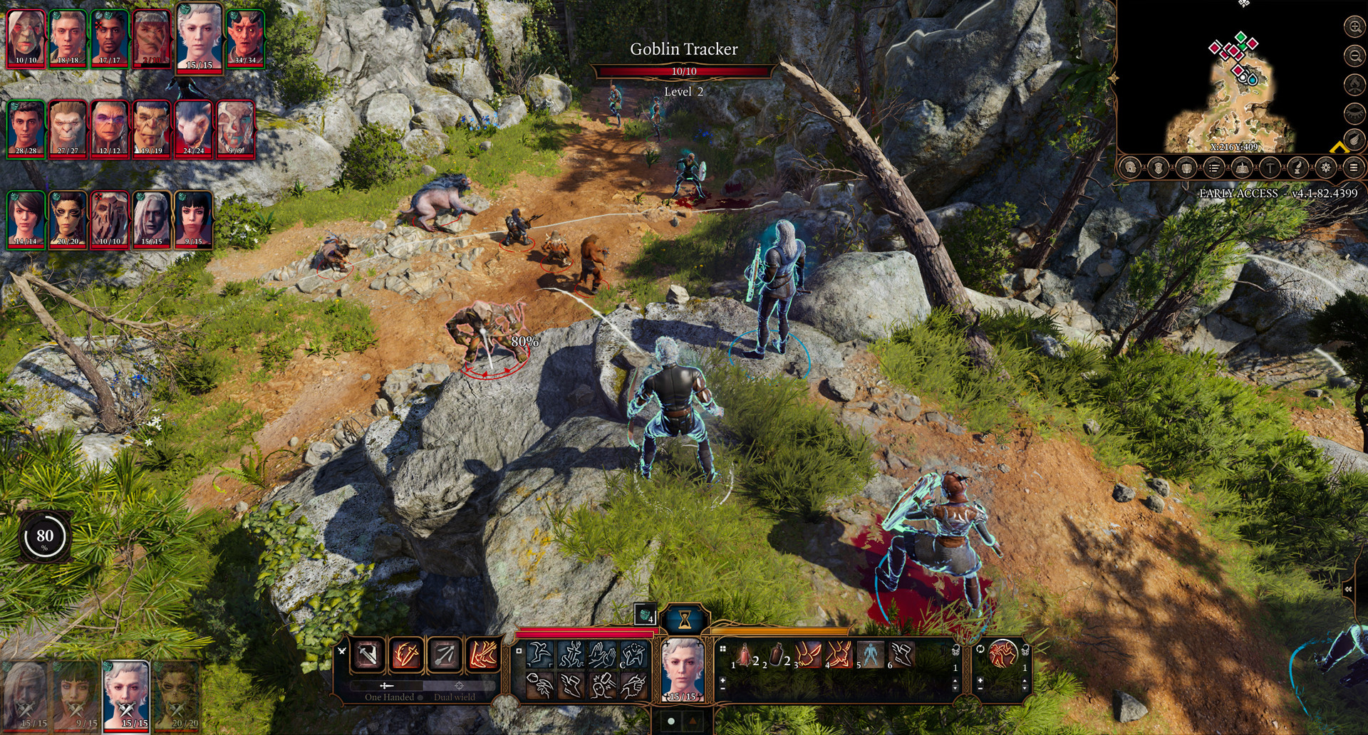 《博德之門3》EA版Steam特別好評 開場23分鐘演示