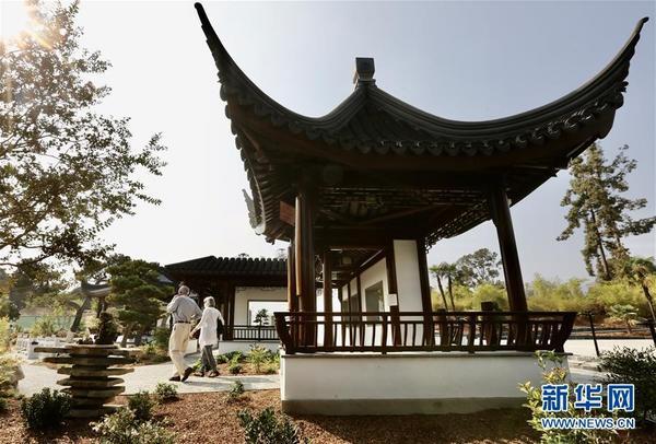 北美最大中式古典园林流芳园扩建完成对外开放