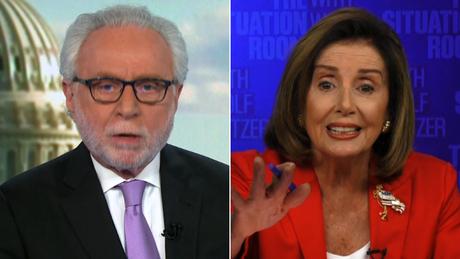 这次,佩洛西与CNN主播吵起来了