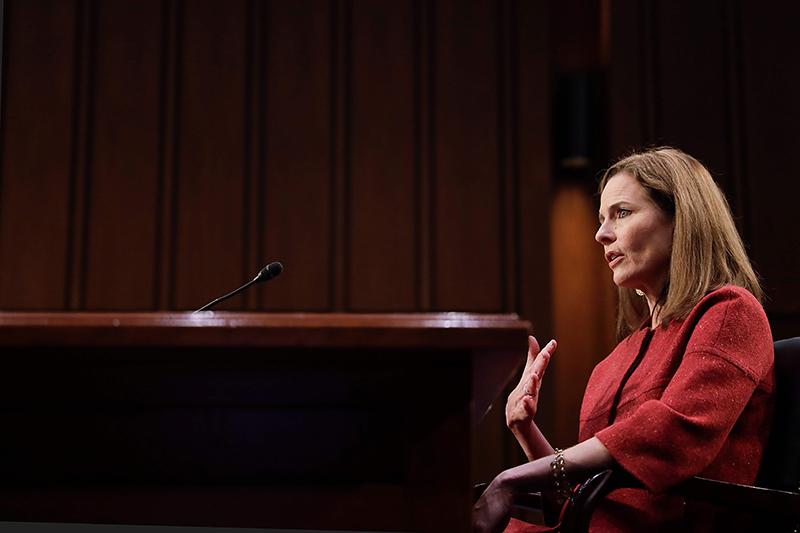 美最高大法官听证会第二天:巴雷特承诺不干涉11月大选结果