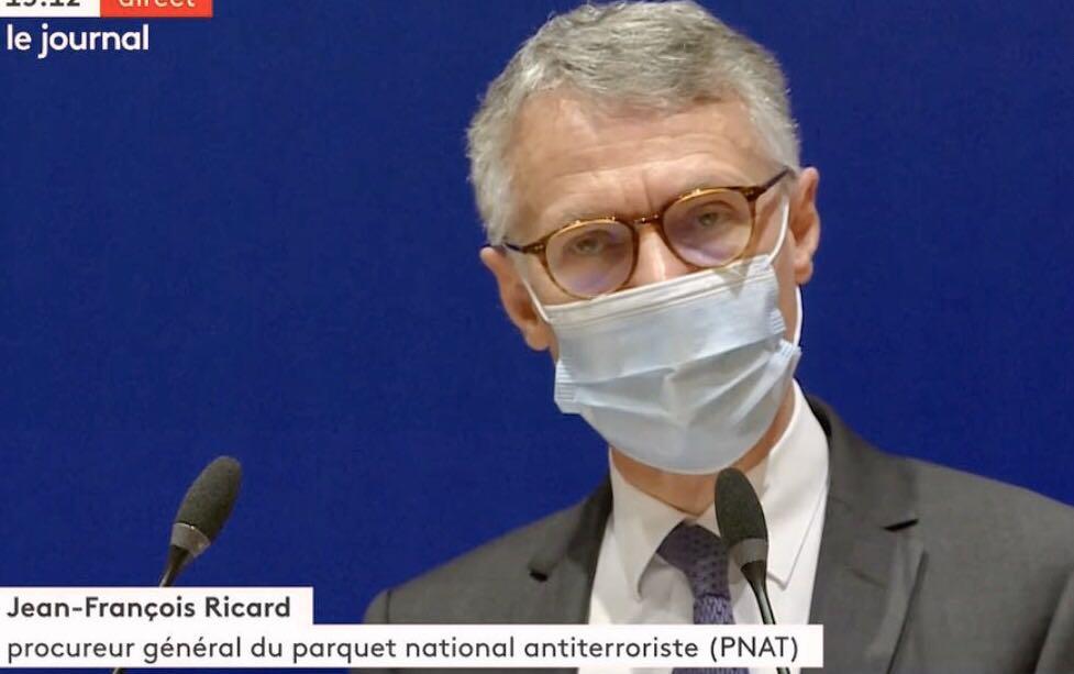 法国国家反恐检察官:巴黎西北郊恐袭案已有9人被拘留