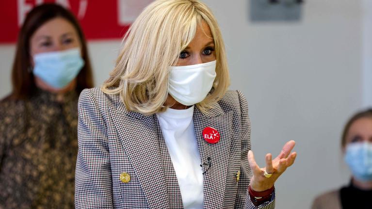法国第一夫人因密切接触新冠病毒感染者采取自我隔离