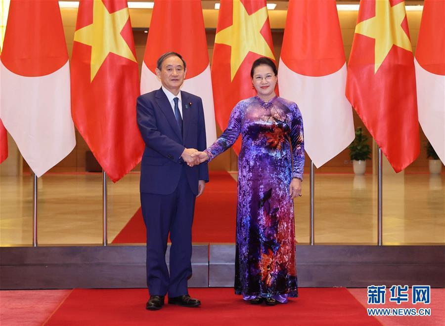 日本首相访问越南