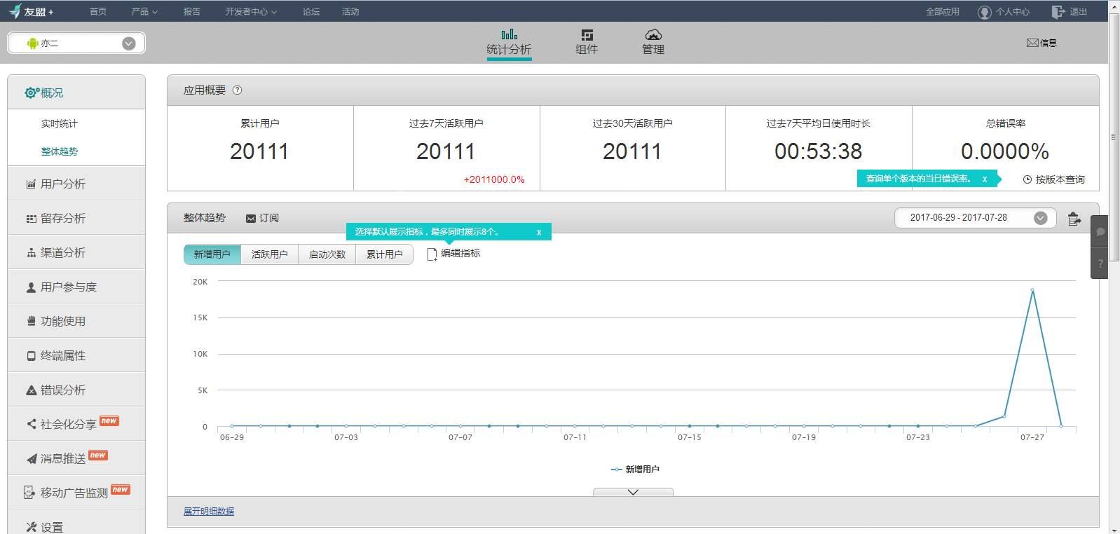 APP渠道推广统计:应用市场分析和多渠道统计方法