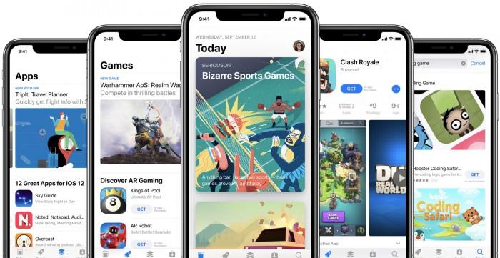 苹果将在巴西、印度、俄罗斯等六国提高App Store销售的应用价格