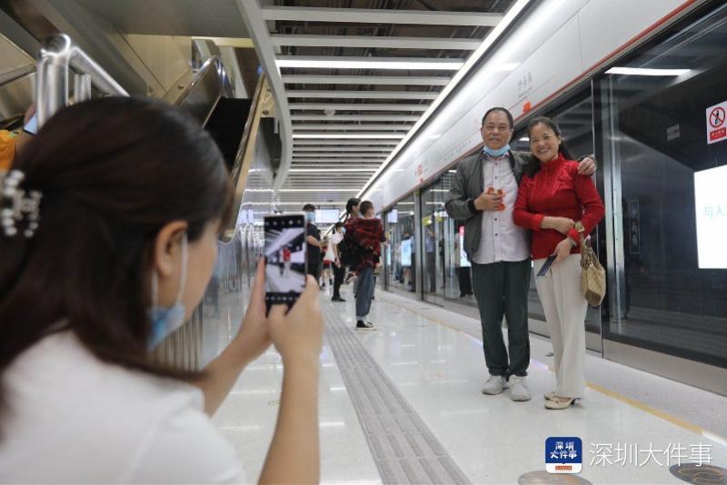 深圳地铁4条线刚刚通车!盐田、莲塘等片区开启地铁出行时代
