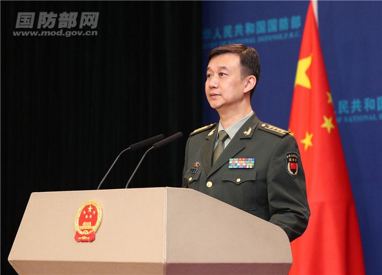 国防部:中方就加拿大军舰过航台湾海峡向加方提出严正交涉