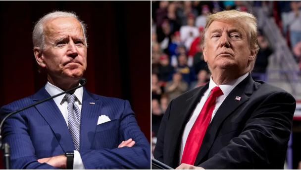 """美国大选进入第二日:中西部成焦点,特朗普和拜登都宣称""""会赢"""""""