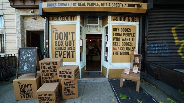 反抗亚马逊:美国线上独立书店网站进驻英国