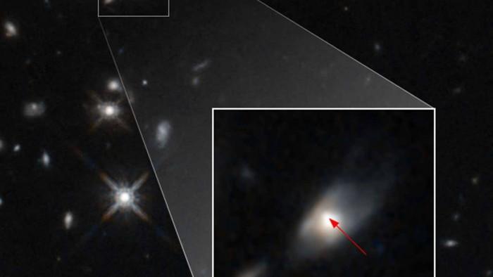 哈勃太空望远镜观测到遥远星系中无法解释的光亮 其中蕴含巨大能量-第1张图片-IT新视野