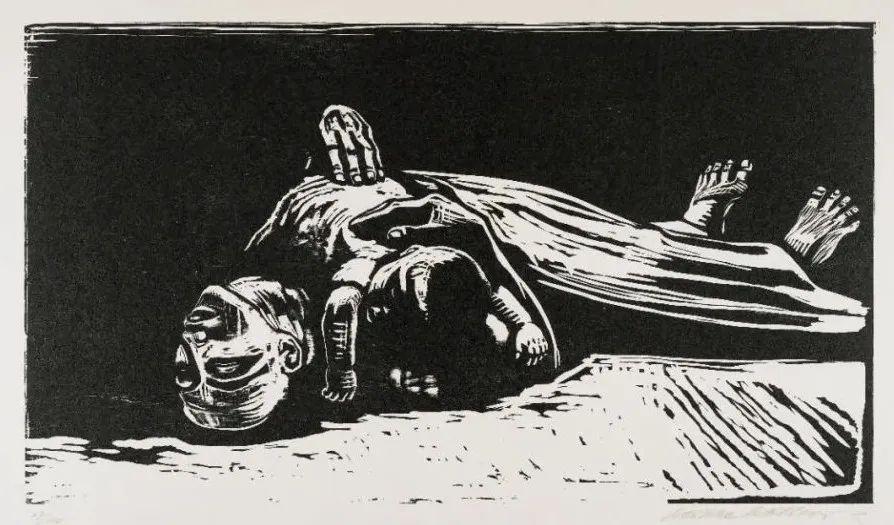 鲁迅最钟情的女性画家丨珂勒惠支