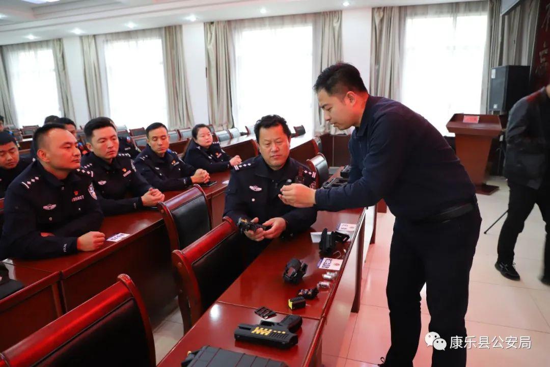 【大练兵】康乐县公安局举行警用电击枪培训班