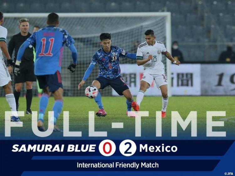 友谊赛-希门尼斯洛萨诺破门 日本0-2面对墨西哥5连败