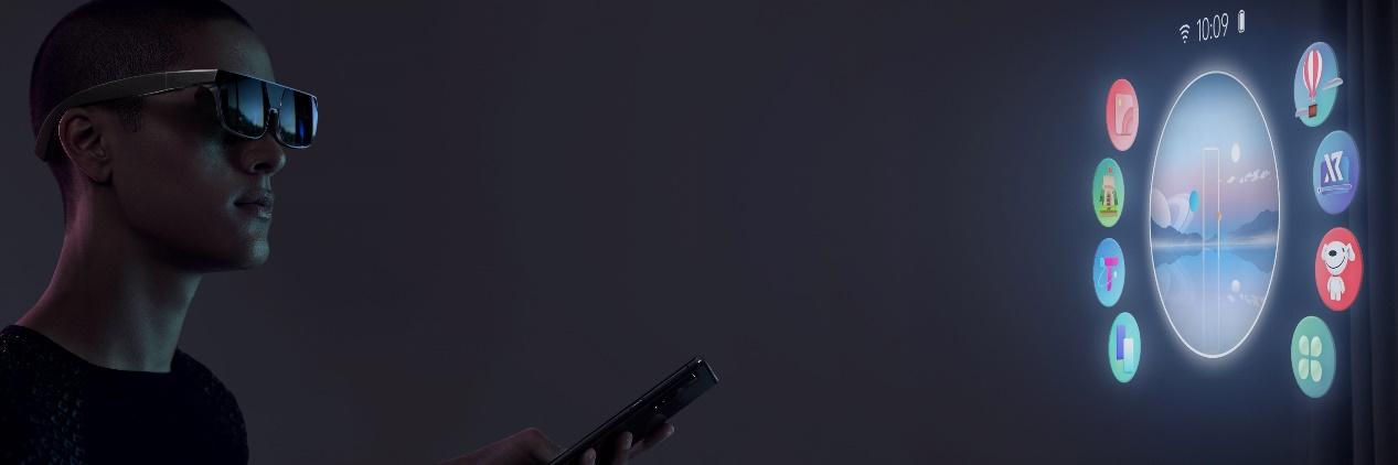 OPPO X 2021卷轴屏概念机发布:实现自由伸缩的屏幕效果