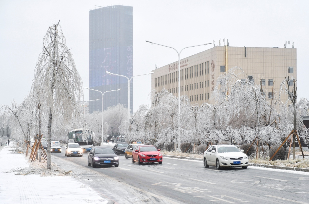遭遇罕见强雨雪大风冰冻天气,来看看乐观的东北人咋整