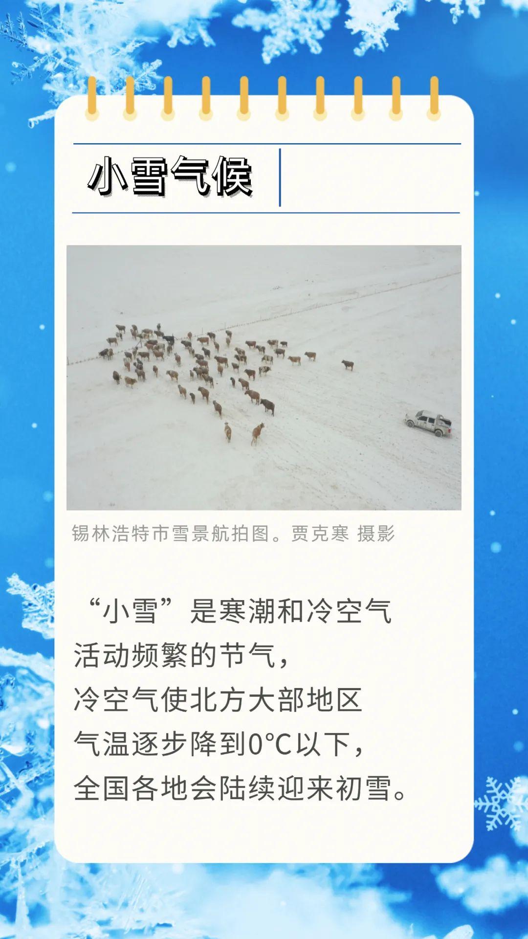 小雪节气:来一场雪,名正言顺