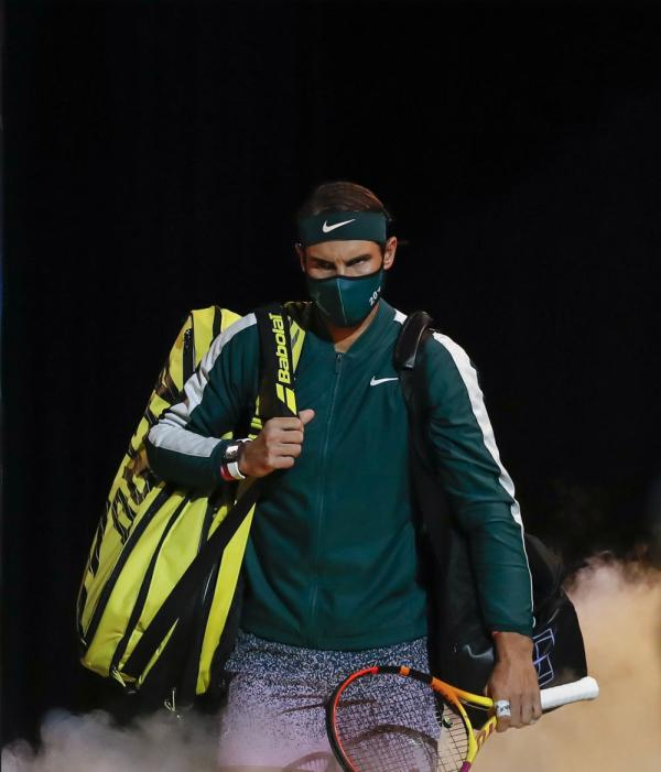 网球丨ATP年终总决赛:纳达尔无缘决赛