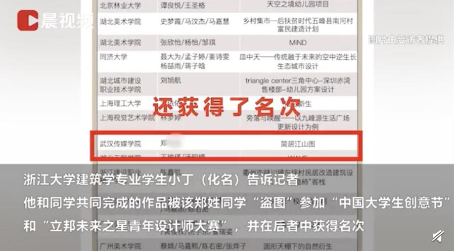 清华、浙大学生作品被抄?回应来了